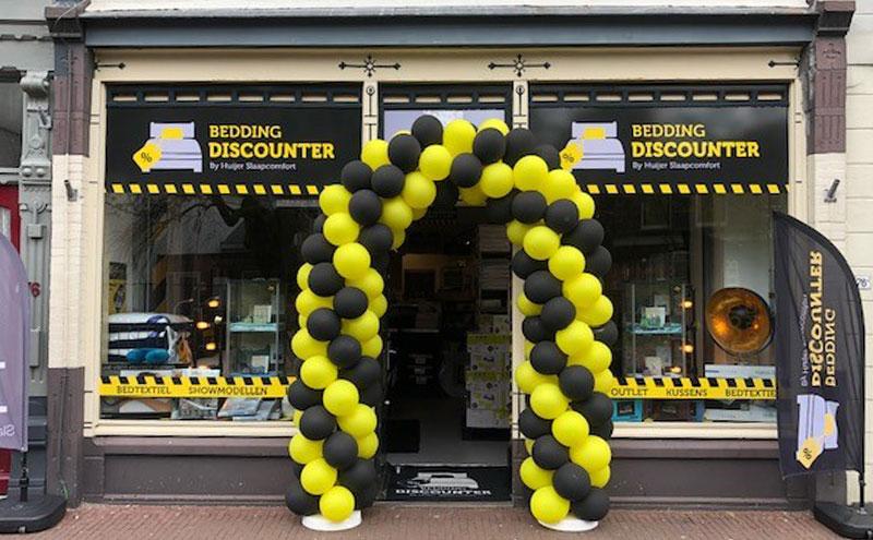 De winkel van Bedding Discounter in Gouda